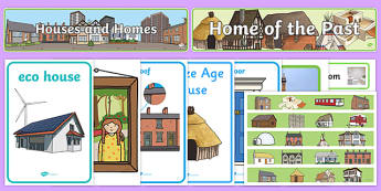 Houses and Homes Display Pack - houses and homes, display pack, display banners, display, resource pack, display lettering, resources, classroom display