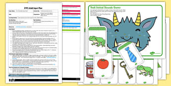 Troll Initial Sounds EYFS Adult Input Plan and Resource Pack