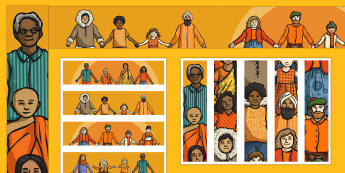 Australia - Harmony Day Display Border - australia, harmony day, display border, display, border