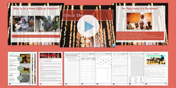 KS3/4 Geography Ethical Christmas Lesson Pack