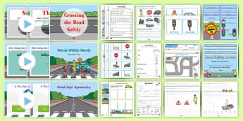 Beep Beep Day Resource Pack - Requests KS1,Irish, walk to school, display, activities