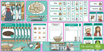 Aistear Pack The Bakery Gaeilge Display Pack-Irish