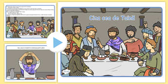 Cina cea de Taina, Prezentare PowerPoint - istoria cinei