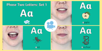 Phase Two Phonemes: Set 1: 'a' Video - phonics, letters, sounds, satp, satpin, sounds, reading, EYFS