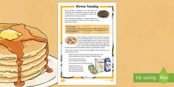 Shrove Tuesday Fact File - Australian Requests, shrove tuesday, australia shrove tuesday, shrove tuesday fact file, shrove tues