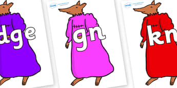 Silent Letters on Mrs Fox to Support Teaching on Fantastic Mr Fox - Silent Letters, silent letter, letter blend, consonant, consonants, digraph, trigraph, A-Z letters, literacy, alphabet, letters, alternative sounds