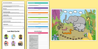 EYFS Nursery On Entry Assessment Pack - baseline assessment, eyfs, on entry, assessment, record