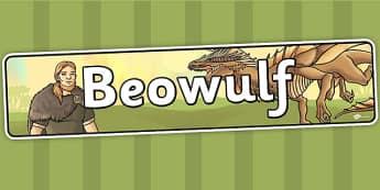 Beowulf Display Banner - beowulf, display, banner, display banner