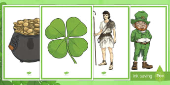St. Patrick's Day Display Posters - St Patrick, Saint Patrick, St Patrick's Day, Saint Patrick's Day, party, lesson plans, decorations