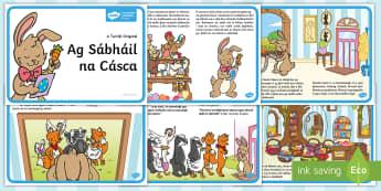 Scéalaíocht: Ag Sábháil na Cásca Story - ag sábháil na cásca, saving Easter, scéal, story, an Cháisc, Easter, scéal na Cásca, Easter s