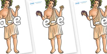 Modifying E Letters on Dionysus - Modifying E, letters, modify, Phase 5, Phase five, alternative spellings for phonemes, DfES letters and Sounds
