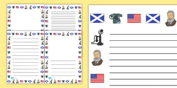 Alexander Bell Page Borders - alexander bell, page border, border