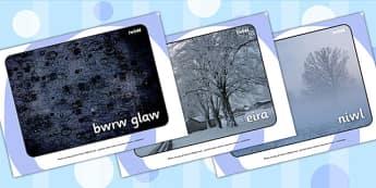 Ffotograffau Arddangos 'Y Tywydd' - weather, season, wales