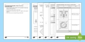 Mathemateg Gweithdrefnol Blwyddyn 4 Tymor 2 Geometreg a Phriodweddau Siâp - Procedural Examples, tests, test, Numeracy Tests, procedural,  Years 5, years 6, Deunyddiau Sampl Gw