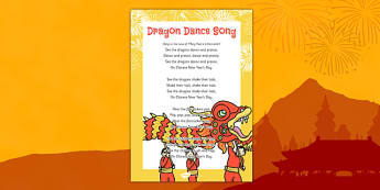 Dragon Dance Song - chinese new year, dragon dance, dragon, dance, song