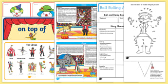 Circus KS1 Lesson Plan Ideas and Resource Teaching Pack - circus