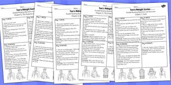 Tom's Midnight Garden Guided Reading Pack - guided reading, pack