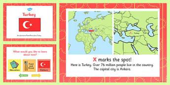 Turkey Information PowerPoint - turkey, information, powerpoint