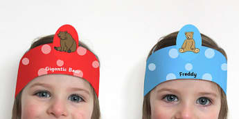 Ive Lost my Teddy Where Is It Role Play Headbands - roleplay, stories, props, wheres my teddy