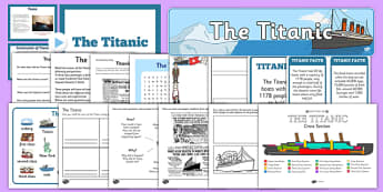 Is The Titanic Resource Pack - boat, ship, sea, ocean, disaster, film, history, America, sail