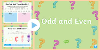 KS1 Odd and Even PowerPoint - odd, even, odd numbers, even numbers, zero, one, two, three, four, five, six, seven, eight, nine, 0,