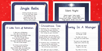 Christmas Carol Handwriting Practice   Activity Pack-Australia - Christmas, Nativity, Jesus, xmas, Xmas, Father Christmas, Santa, St Nic, Saint Nicholas, traditions,