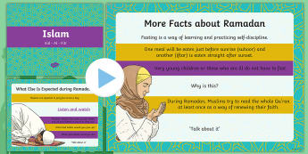 Eid-al Fitr Activity PowerPoint - Islam, Muslim, Festival, celebration, tradition, custom