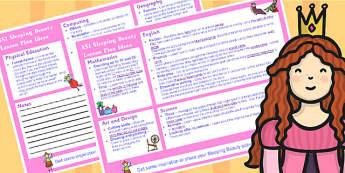 Sleeping Beauty KS1 Lesson Plan Ideas - lesson plan, ideas, ks1