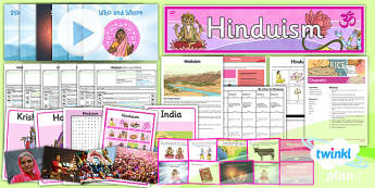 PlanIt - RE Year 3 - Hinduism Unit Pack - planit, unit pack, re, religious education, hinduism