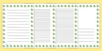 Dragon Portrait Page Borders- Portrait Page Borders - Page border, border, writing template, writing aid, writing frame, a4 border, template, templates, landscape