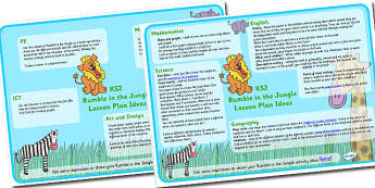 Lesson Plan Idea KS2 to Support Teaching on Rumble in the Jungle - rumble in the jungle, rumble in the jungle lesson plan, rumble in the jungle lesson ideas, jungle lesson plan