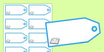 Book Shop Editable Price Tags - book shop, book shop role play, book shop labels, book shop tags, book shop price tags, book shop editable labels, books