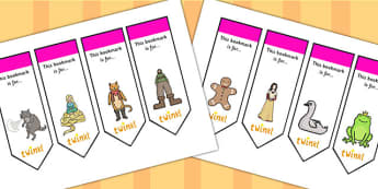 Traditional Tales Themed Bookmarks - traditional tales, bookmarks, awards, bookmark awards, books, reading, reward bookmarks, rewards, themed bookmarks