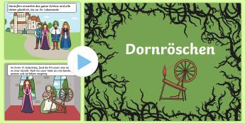 Dornröschen PowerPoint - Dornröschen, Märchen, Dornröschen Power Point, Dornröschen Präsentation, Märchen Power Point