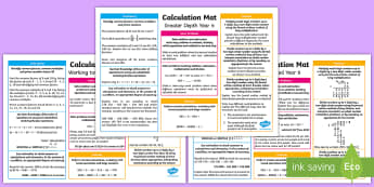 Year 6 Addition, Subtraction, Multiplication and Division Differentiated Maths Mats - KS2, Maths, Year 6, Y6, addition, subtraction, multiplication, division, sats practise, sats practic