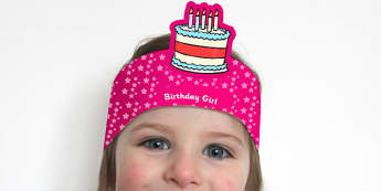 Birthday Boy and Birthday Girl Headbands - awards, rewards, party
