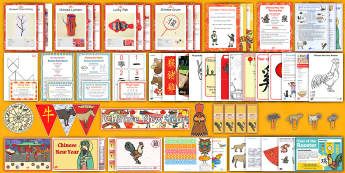 Childminder Chinese New Year Resource Pack - chinese new year