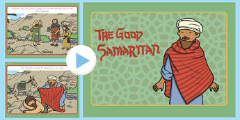 The Good Samaritan Story PowerPoint - usa, good samaritan, the good samaritan, the good samaritan powerpoint, the good samaritan story, samaritan, good samartian