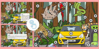 Earth Day Picture Hotspots - KS1, Year 1, Year 2, Earth Day, Recycle, Environment, Trees, Animals, Planet, Science, Geography, Pi