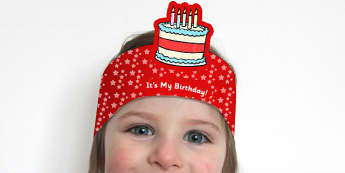 Its My Birthday Headbands - birthdays, awards, rewards, party