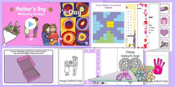 KS1 Mother's Day Resource Pack - KS1 & KS2 Mother's Day UK (26.3.17), mother, mum, mummy, celebration,