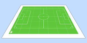 Football Pitch BeeBot Mat - pitch, football, beebot, direction