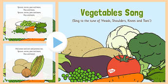 Vegetables Song PowerPoint