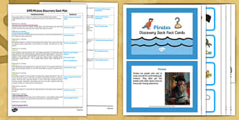 EYFS Pirates Discovery Sack Plan and Resource Pack - EYFS, pirates, discovery, discover