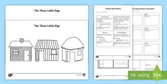 Houses and Homes Pack Aistear - Houses and Homes Aistear Plans