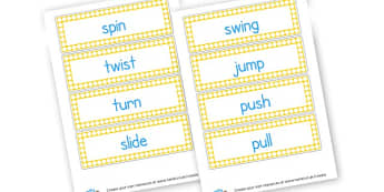 Movement Word Cards - KS2 Science Movement Visual Aids, Movement, Skeleton, Muscles, KS2