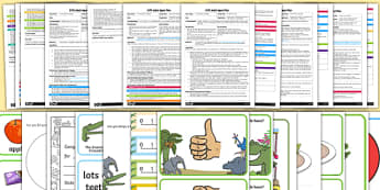 EYFS Adult Input Planning and Resource Pack to Support Teaching on The Enormous Crocodile