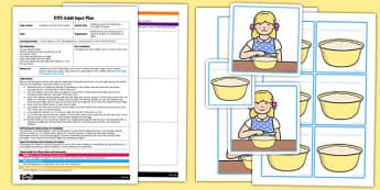 Goldilocks Porridge Pictogram EYFS Adult Input Plan and Resource Pack