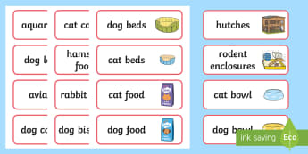 Pet Shop Labels - Pets, shop, price, price labels, for sale, cat, dog, rabbit, mouse, guinea pig, rat, hamster, gerbil, horse, puppy, kitten, snake, chinchilla, snail, lizard, budgie