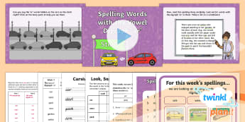 PlanIt Y1 Term 2A W2 'ar' Spelling Pack - Spelling Packs Y1, Term 2A, week 1, ar